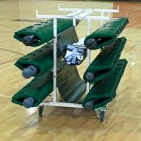 Six Post Deluxe Volleyball Cart