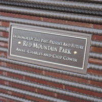 Upcharge to add memorial plaque option to straight back benches