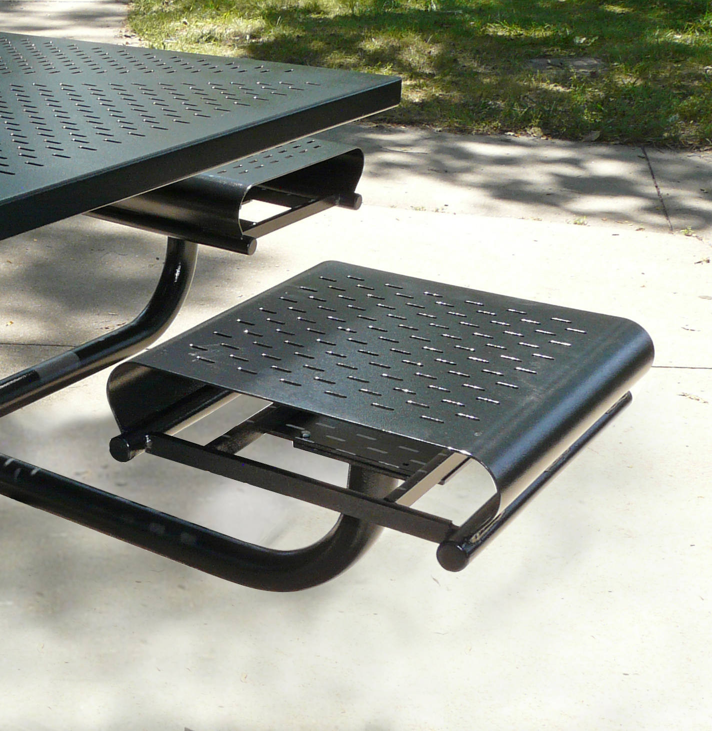 Picnic Time backless seat - Bison, Inc.